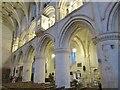 ST9387 : Malmesbury Abbey - Interior by Colin Smith