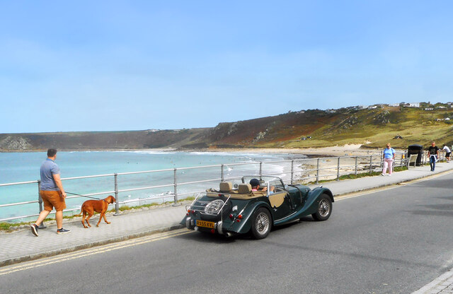 By the sea at Sennen Cove