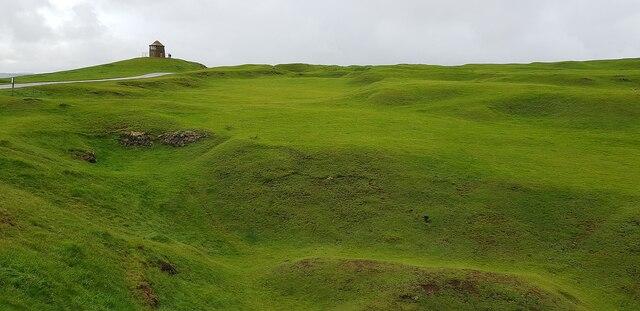 Burton Dasset Hills - View to The Beacon on Windmill Hill