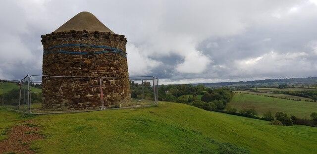 Burton Dasset Hills - The Beacon on Windmill Hill