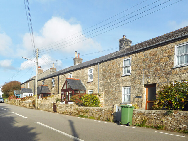 A terrace of houses in Trewennack