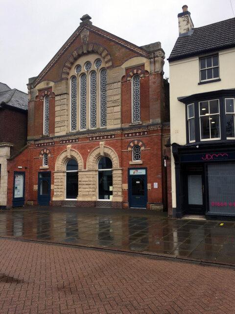 Baptist Chapel, Nottingham Street, Melton Mowbray