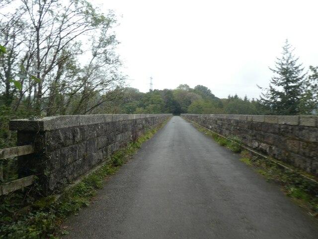 Bickleigh viaduct on the West Devon Way