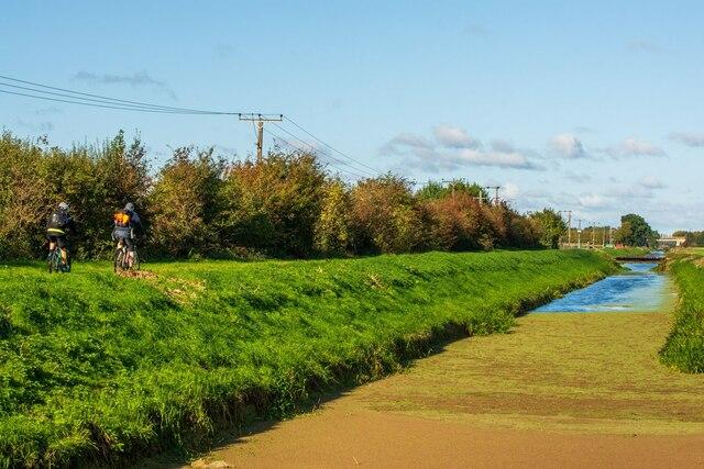 Main Drain near Boultham Mere Nature Reserve, Lincoln