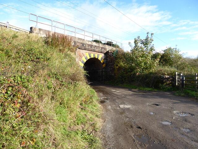 Railway Bridge, Thacka Lane