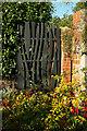 SX8060 : Gate, Leechwell Garden by Derek Harper
