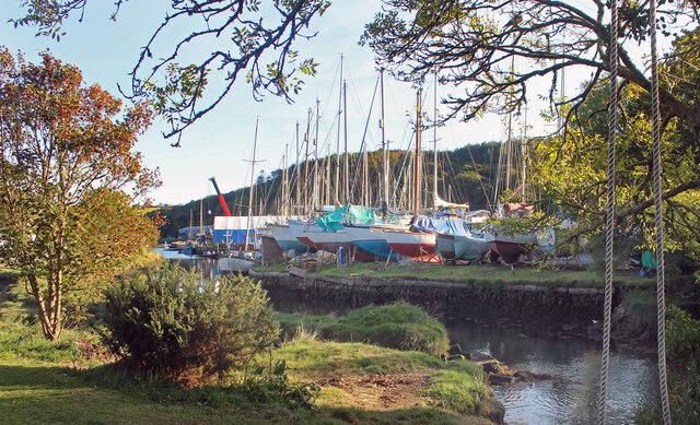 Boatyard at Gweek