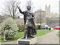 TR1557 : Canterbury - Ethelbert King of Kent by Colin Smith