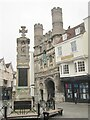 TR1557 : Canterbury - Buttermarket by Colin Smith