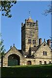 TQ6045 : Clock tower, Somerhill House by N Chadwick