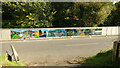 NZ7119 : Mural on bridge over Kilton Beck by Andy Waddington