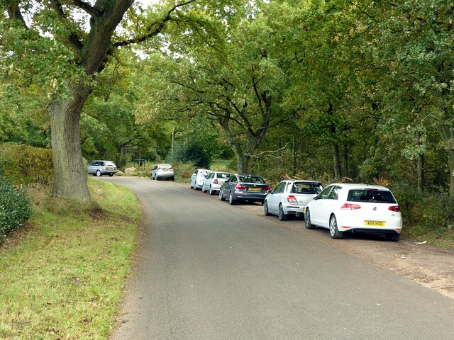 Rigg Lane parking for Blidworth Woods