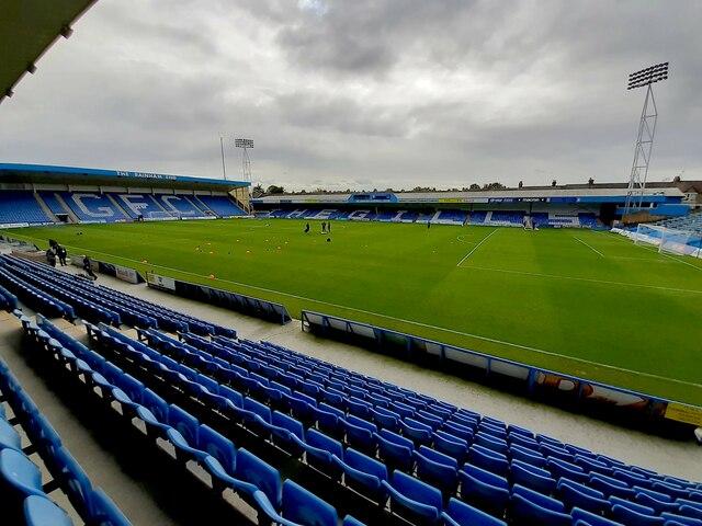 Priestfield Stadium in Gillingham