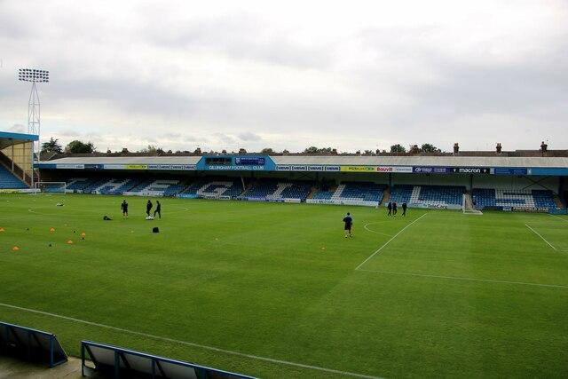 The Gordon Road Stand at Priestfield Stadium