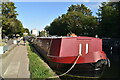 TQ3483 : Narrowboat, Regent's Canal by N Chadwick