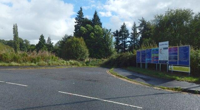 Gate beside Levenside Road