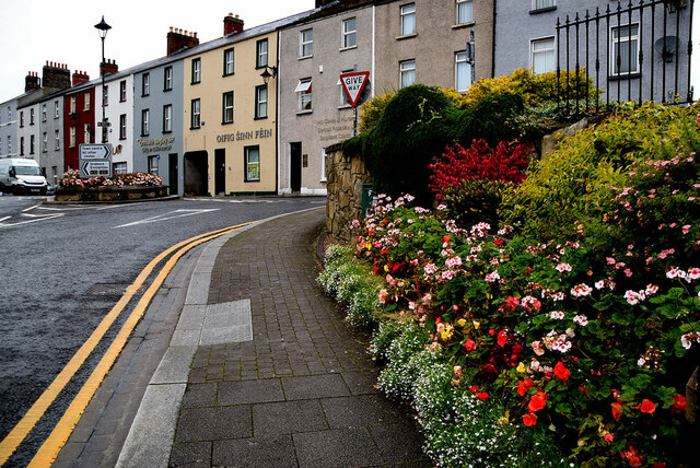 Flower beds, Omagh