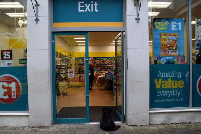 Exit from Poundland, Omagh