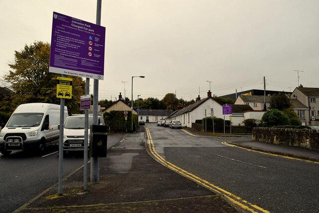 Car Parks, Johnston Park, Omagh