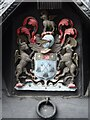 SO5140 : Coat of Arms of the Butchers' Guild by Philip Halling