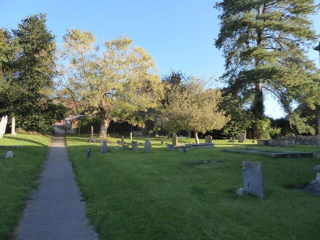 Holy Cross, Ramsbury: churchyard (c)
