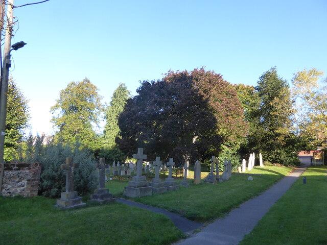 Holy Cross, Ramsbury: churchyard (f)
