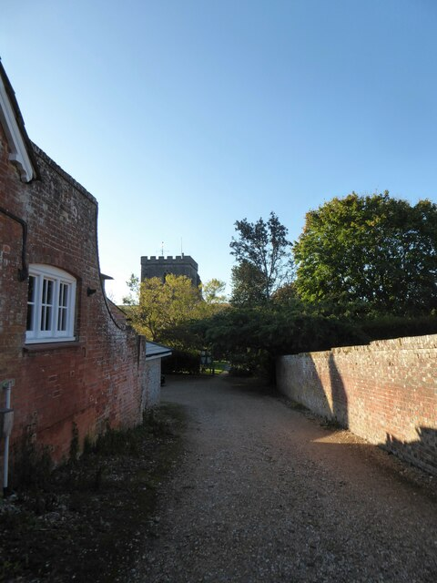 Path from Back Lane to Holy Cross, Ramsbury