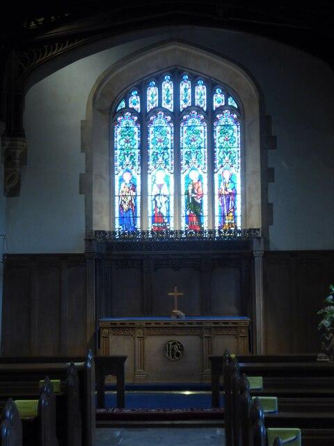 Holy Cross, Ramsbury: side altar