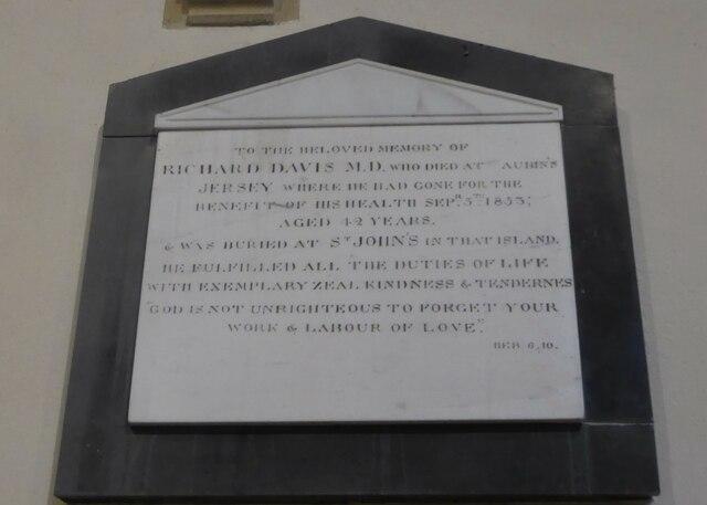 Holy Cross, Ramsbury: memorial (2)
