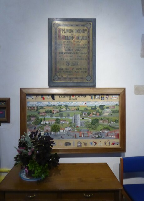 Inside Holy Cross, Ramsbury (d)