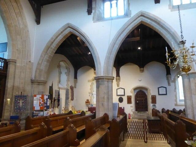 Inside Holy Cross, Ramsbury (f)