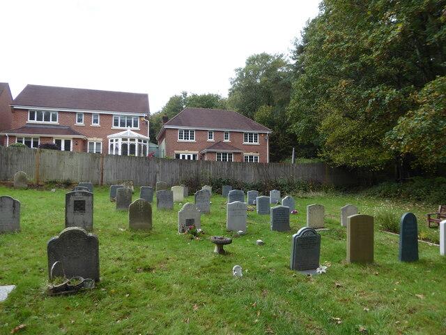 St Saviour, Colgate: churchyard