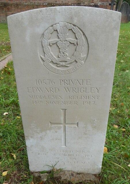 St Saviour, Colgate: CWGC grave