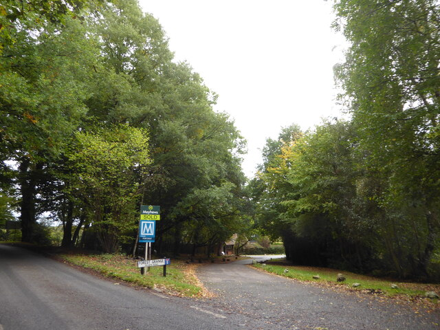 Junction of Forest Road and Forest Grange