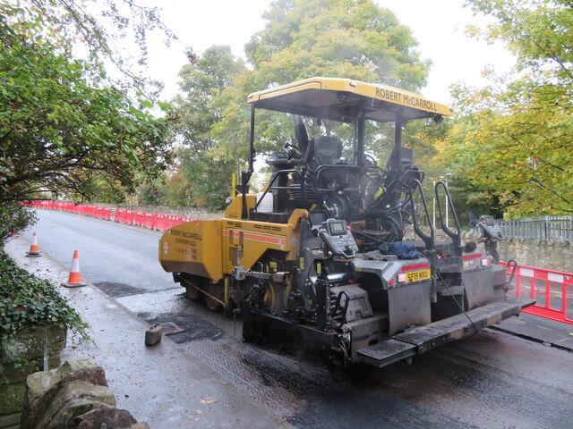 Braid Road - resurfacing