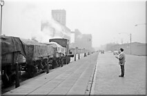 SJ3488 : Shunting at Brunswick Dock, Liverpool by Alan Murray-Rust