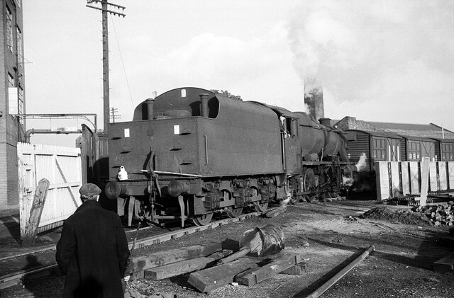 Shunting at Crawford's biscuit factory – 1965  - 4