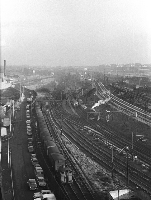 Fireless loco at Crawford's biscuit factory – 1965  - 5