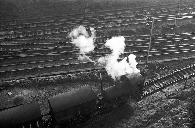Fireless loco at Crawford's biscuit factory – 1965  - 6