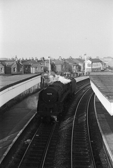 Earlestown Station – 1966