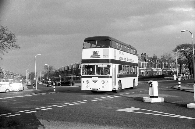 Leyland Atlantean demonstrator, Southport – 1966