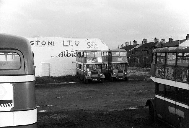 Milburn Motors, Walmer Bridge – 1966