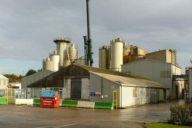 Barnstone Works, cement silos