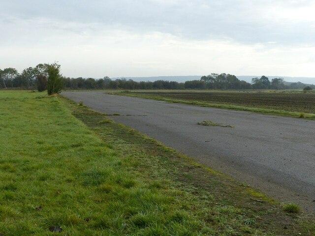 Perimeter road, Langar airfield