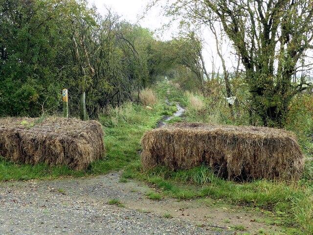 Bridleway to Stathern
