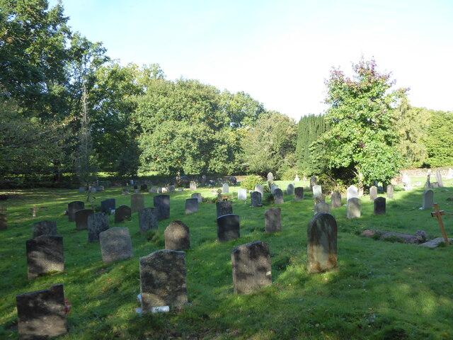 Churchyard, The Good Shepherd, Iping Marsh (1)