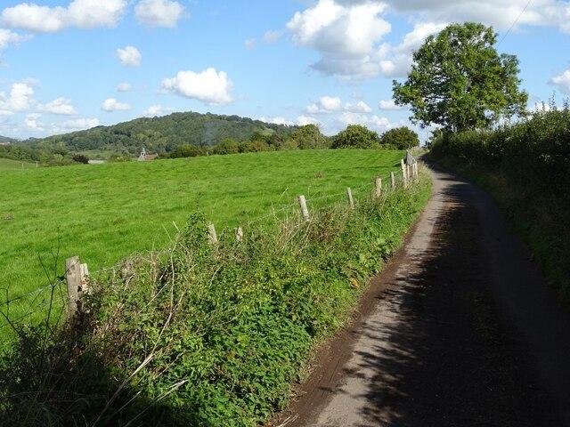 No through road at Knightwick