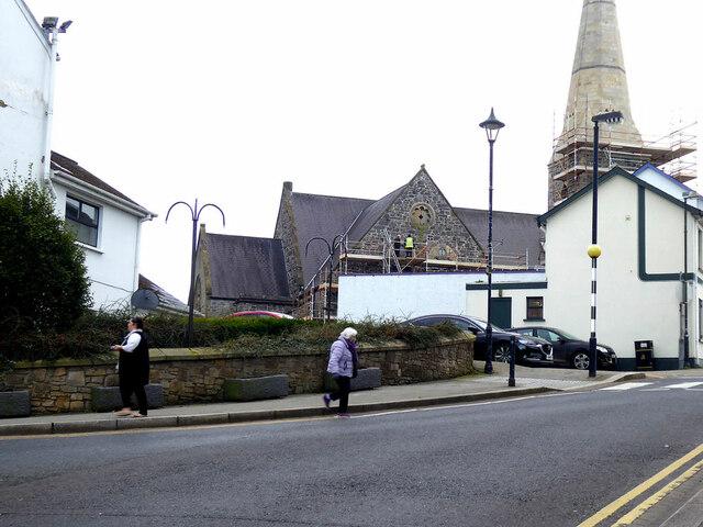 Renovations at St Columba's Church, Omagh