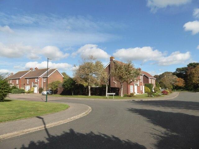 Junction of Grange Field Way and Grangewood Drive