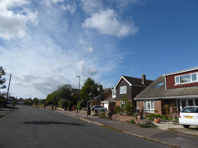 Houses in St Richard's Drive